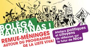 BOLÈGA BAMBANAS #5 ! Remue méninges autour du programme de la liste ViVA! @ Permanence ViVA!