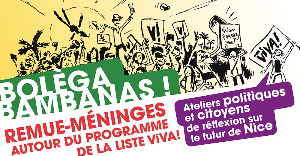 BOLÈGA BAMBANAS #5 ! Remue méninges autour du programme de la liste ViVA!