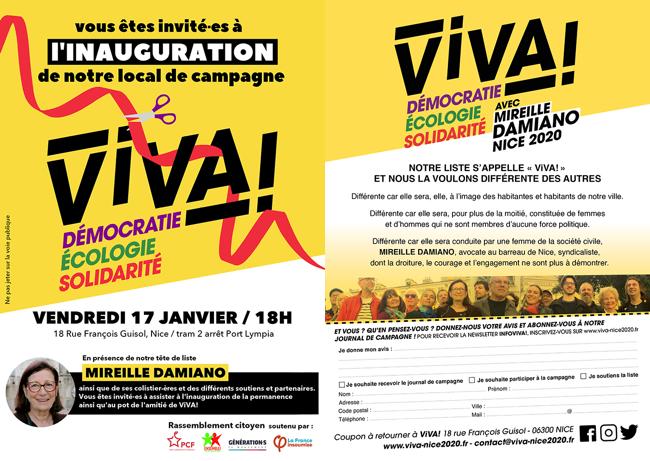 ViVA!_Affiche_InaugurationLocalCampagne