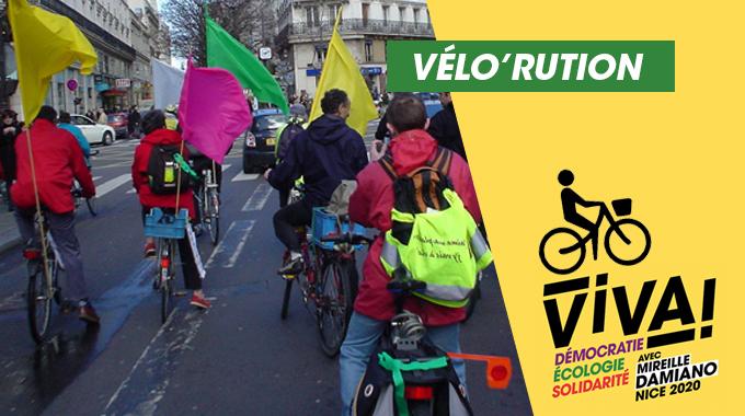 Vélorution pour un vrai plan vélo à Nice