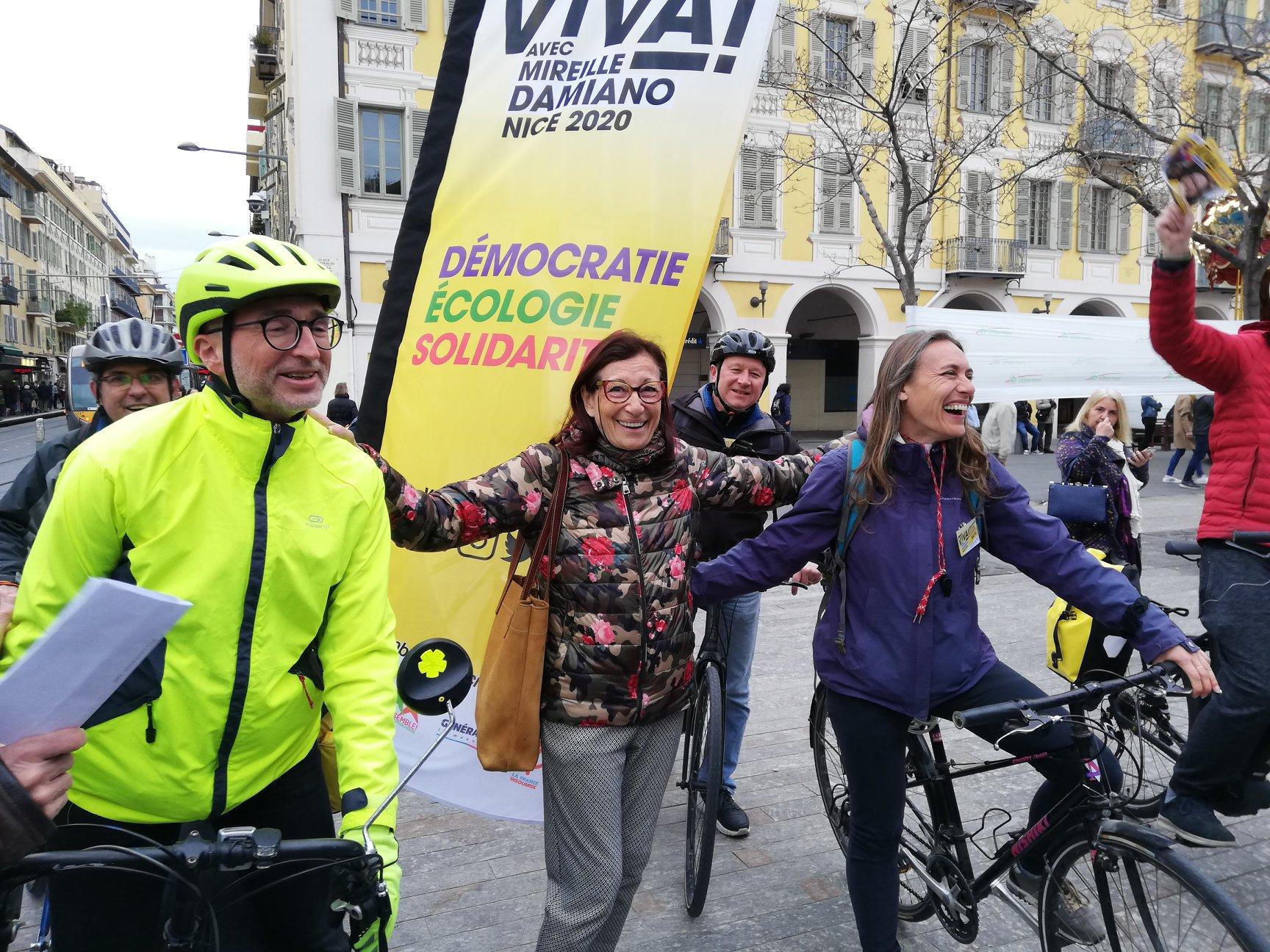 Le Tour de Nice à vélo