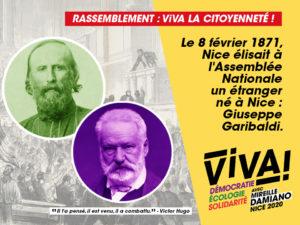 Rassemblement ViVA! la citoyenneté ! @ Quai Cassini