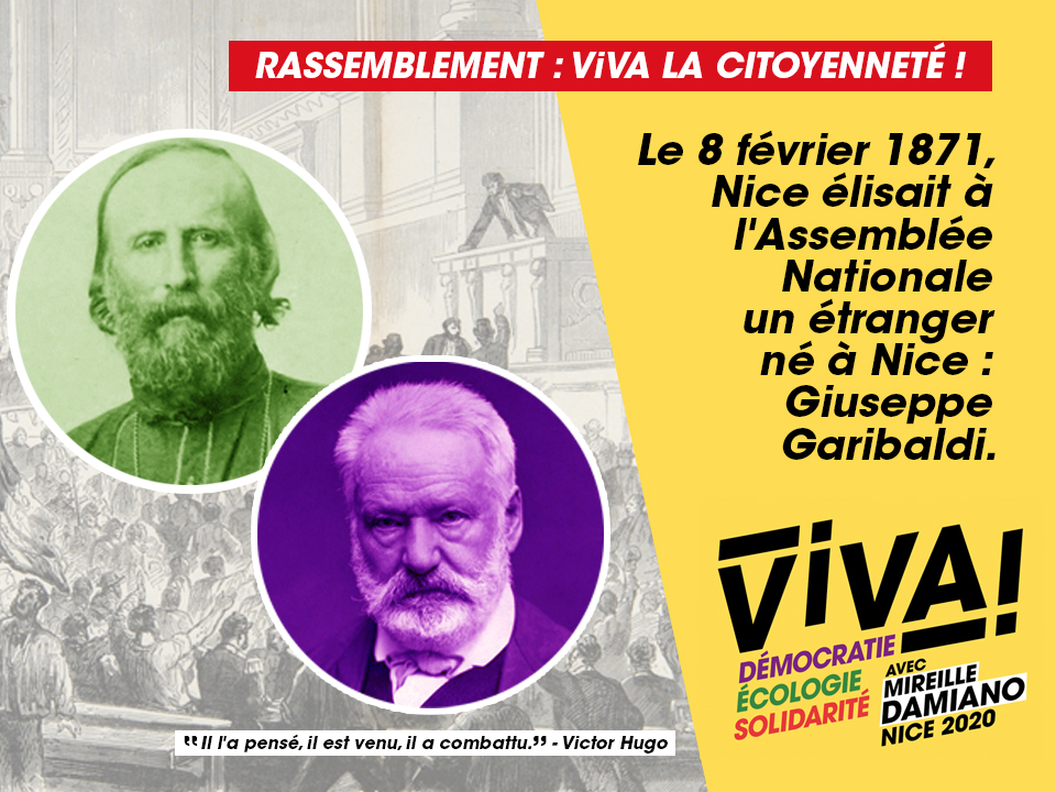 Rassemblement ViVA! la citoyenneté !