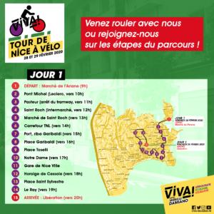 ViVA! Tour de Nice Jour 1 @ Marché de l'Ariane