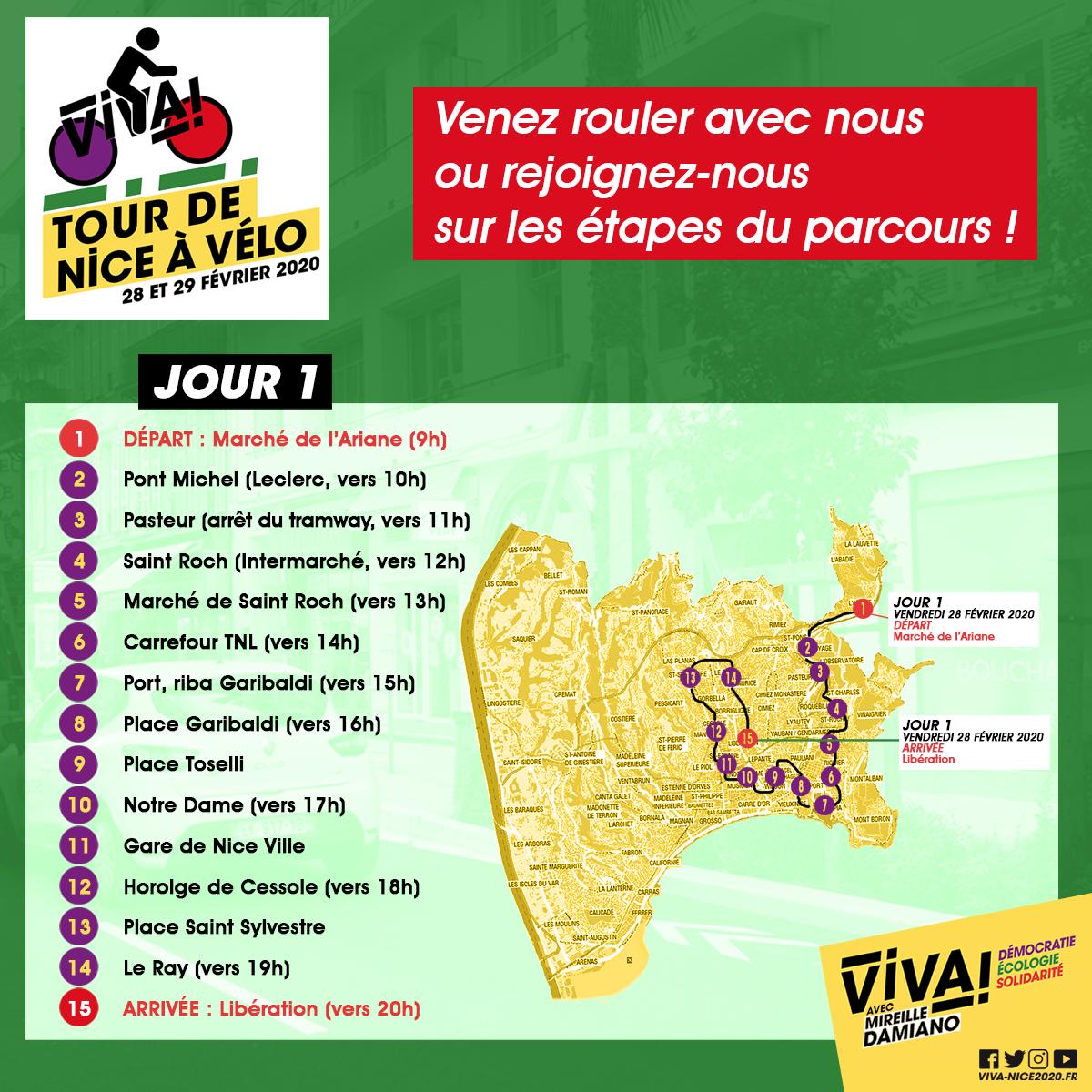 ViVA! Tour de Nice Jour 1