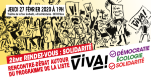 Rencontre-débat autour du programme ViVA! - Solidarité @ Theatre de la Tour Gorbella