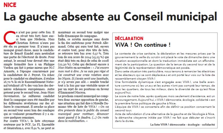 ViVA!_Presse_LePatriote_20Mar