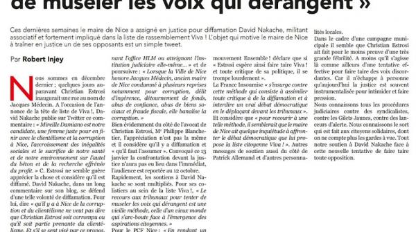 ViVA!_Presse_LePatriote_17janv