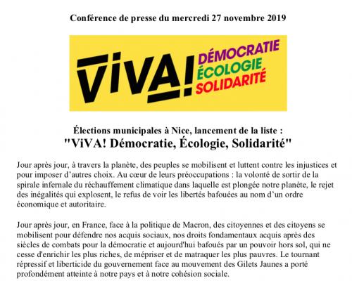 20191127_ViVA!_Communiqué